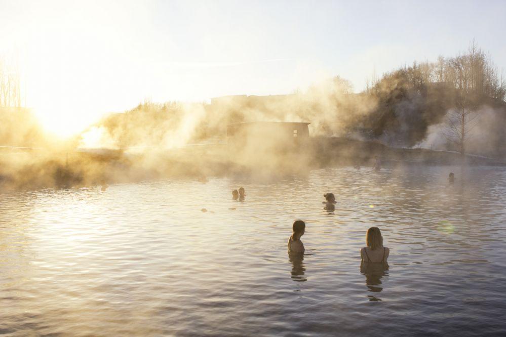 Une baignade dans le Secret Lagoon - 20