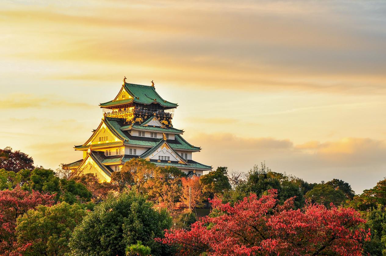 Burg Osaka Japan