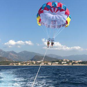 Un vol en parachute ascensionnel