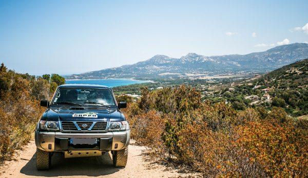 Une excursion en 4x4 dans le Sud de de la Corse