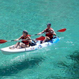 Une randonnée Kayak dans la baie de Campomoro