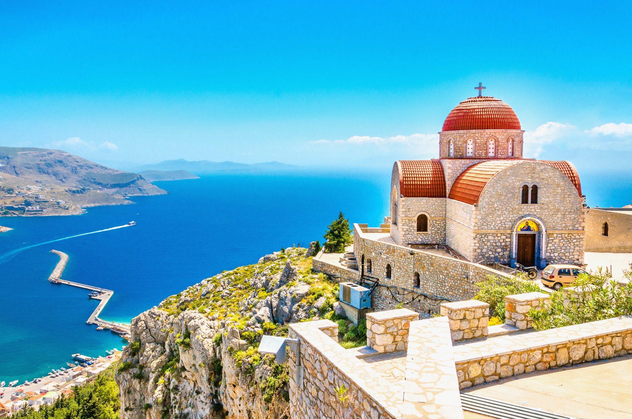 magnifique vue en Grèce