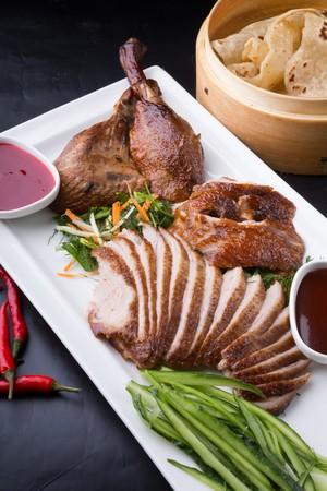 Repas gastronomique à Pékin