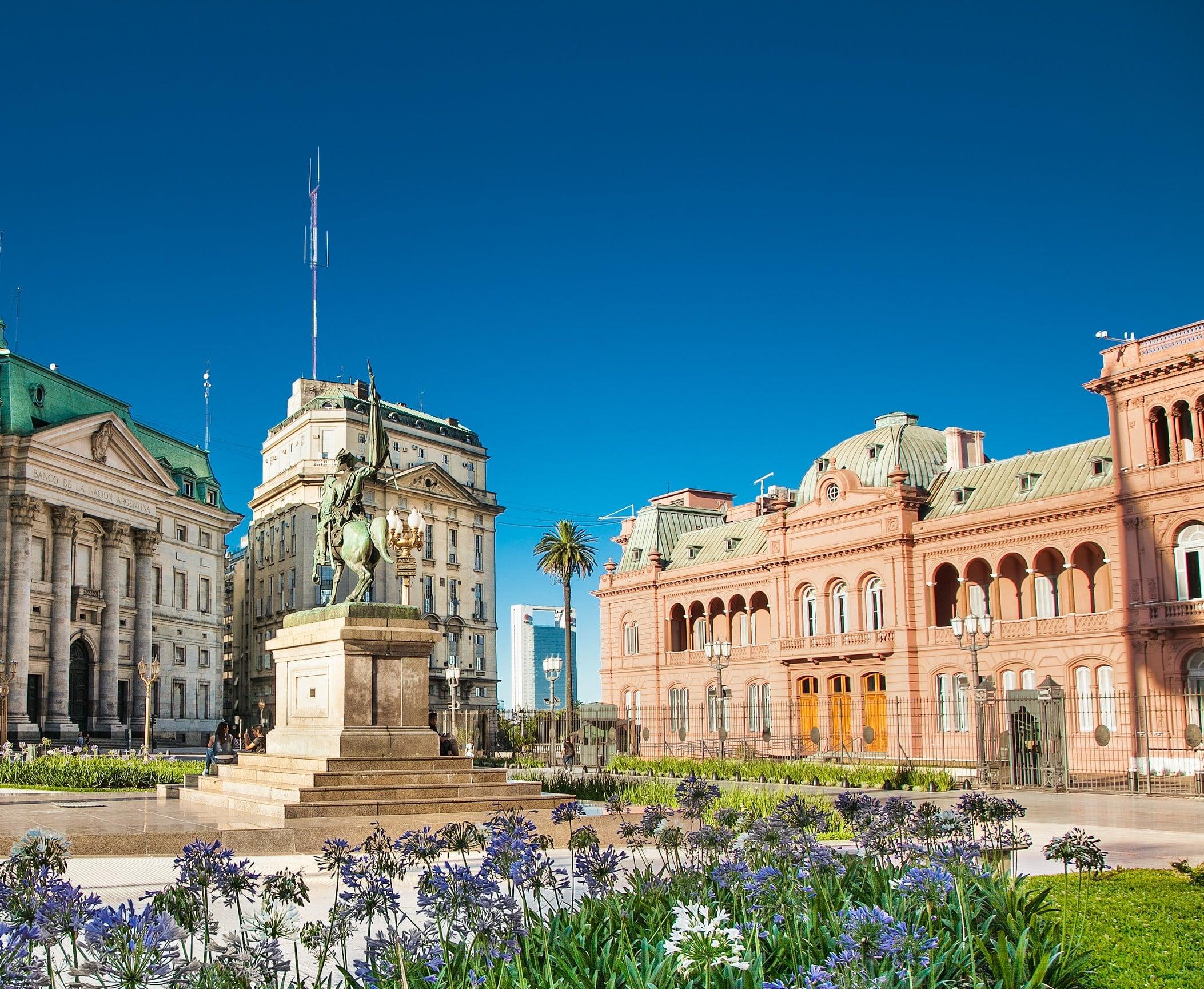 Place de mai Argentine Buenos Aires
