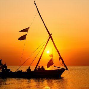 coucher de soleil zanzibar