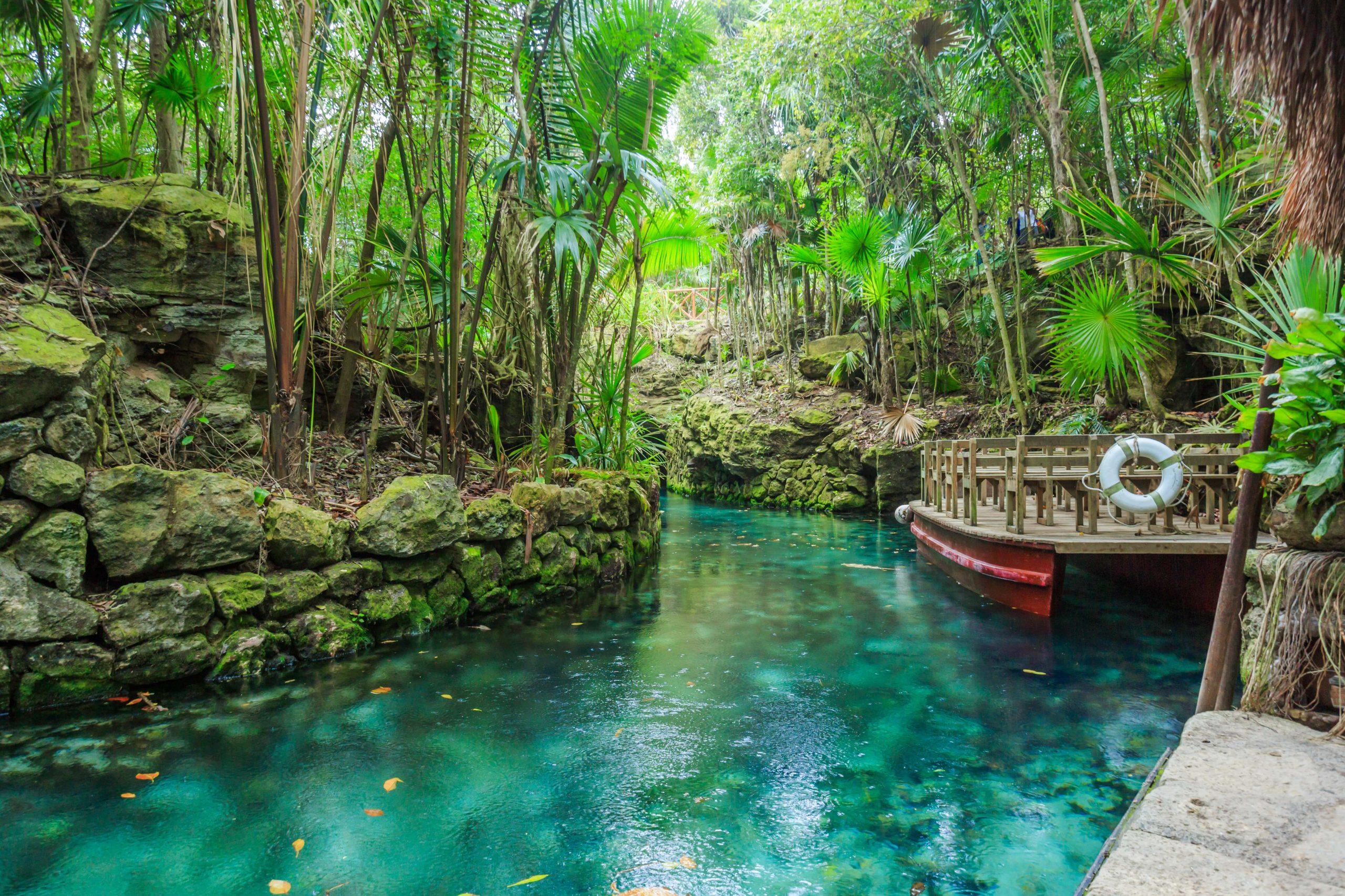rivière Maya Mexique
