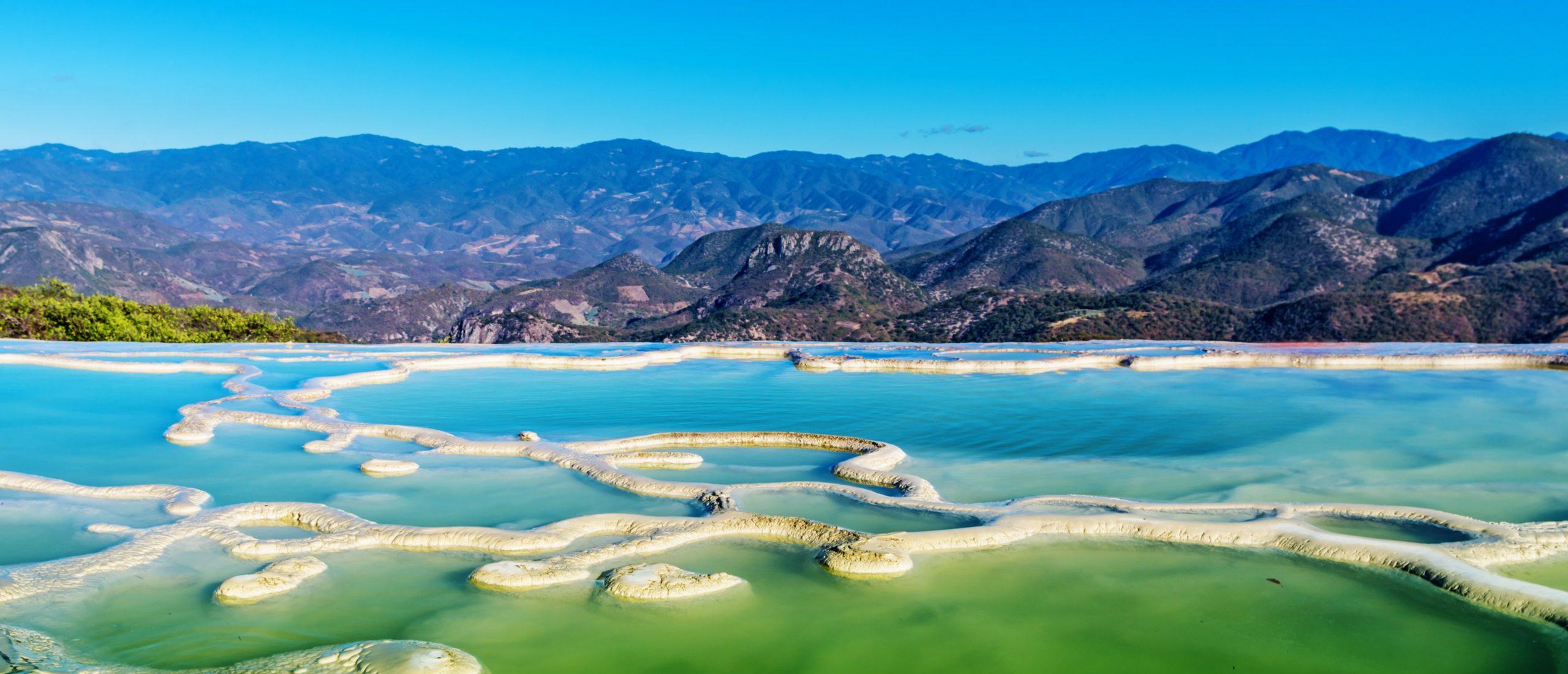 eau turquoise mexique