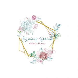 Logo blooming dream wedding