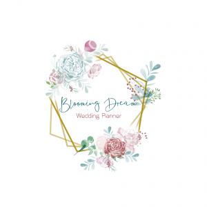 Logo blooming dream wedding