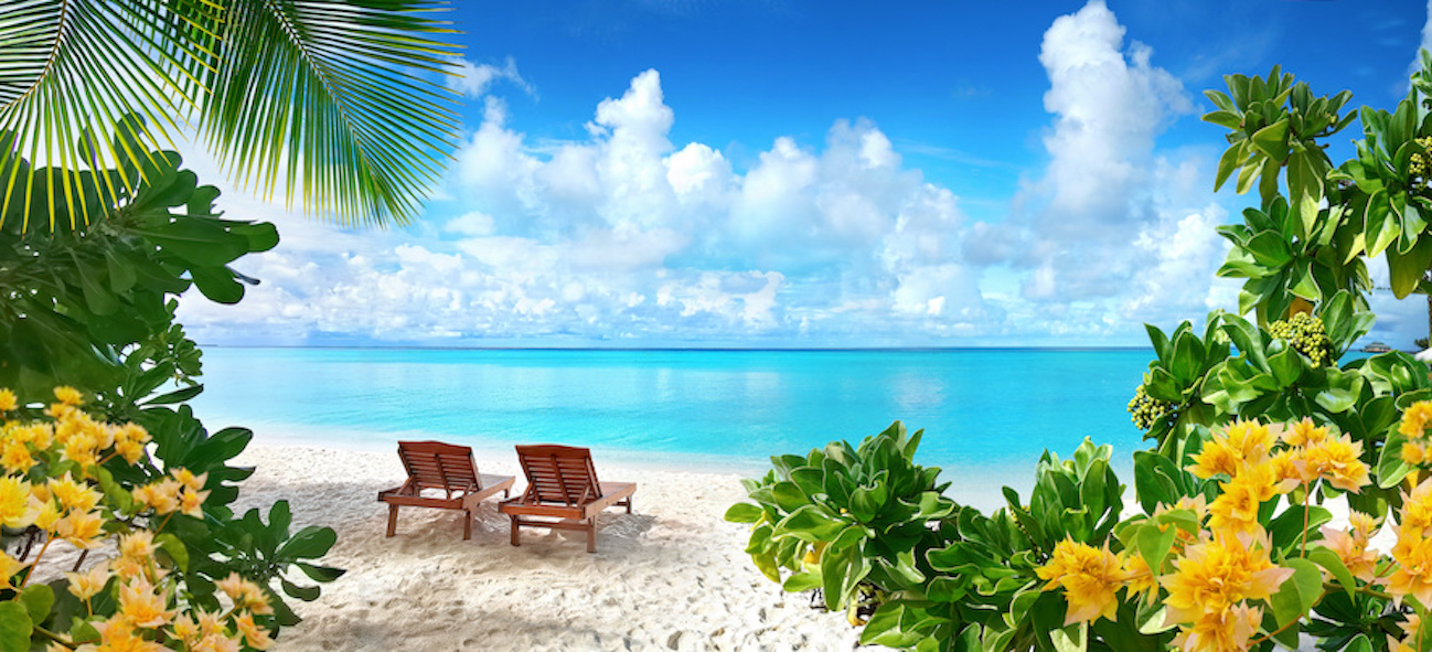 transat plage maldives