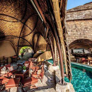 restaurant wild coast tented lodge