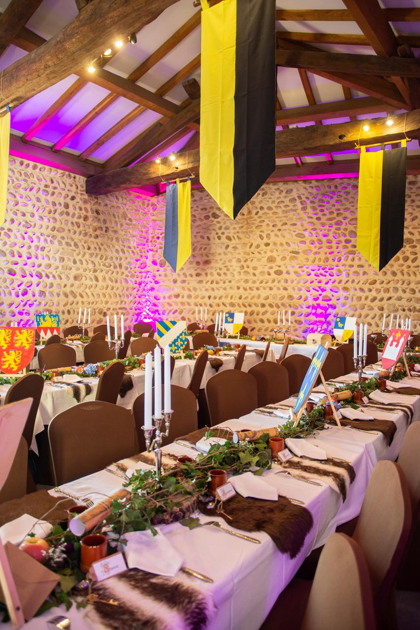 salle mariage médiéval