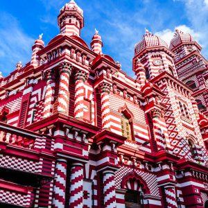 mosquée de colombo, sri lanka