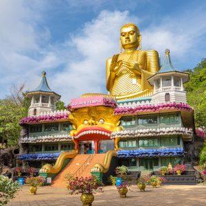 dambulla golden temple, sri lanka