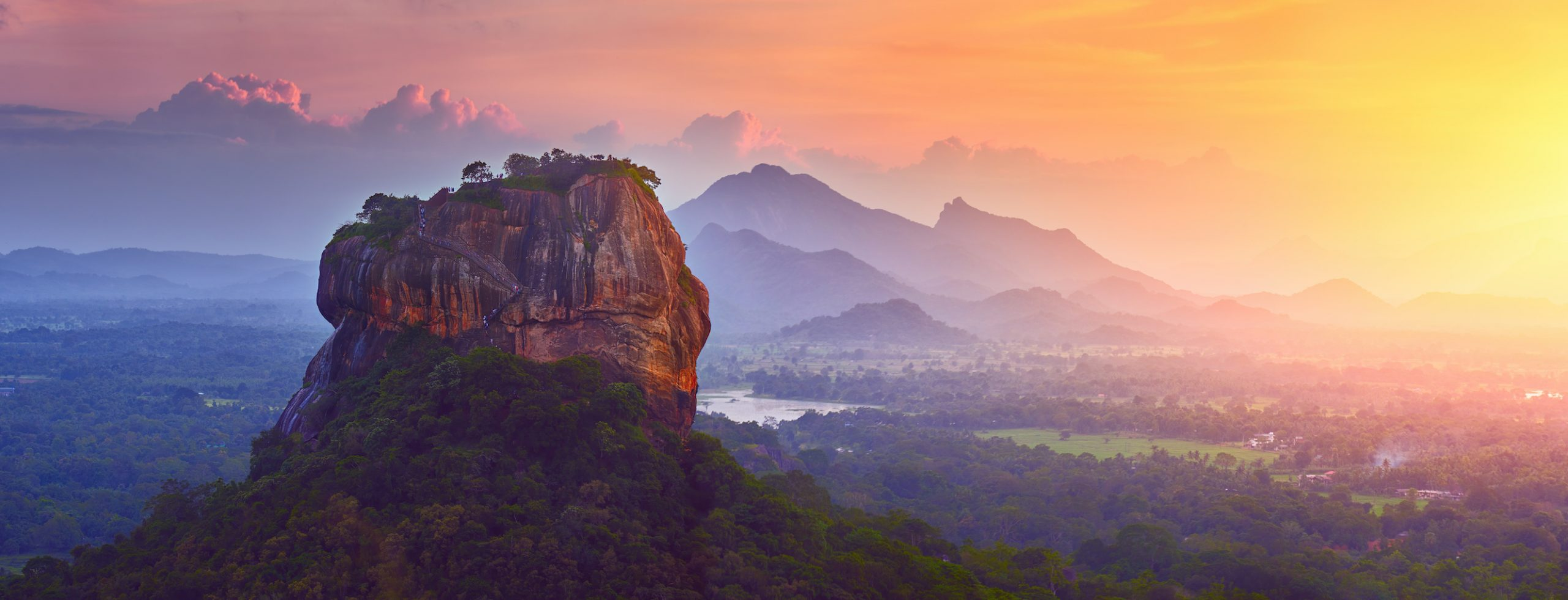 le rocher du lion, sri lanka