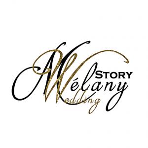 Logo melany wedding story