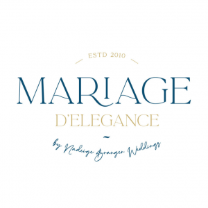 Logo MARIAGE D'ELEGANCE by Nadeige Branger Weddings
