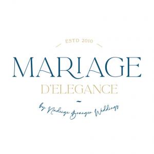 Logo MARIAGE D'ELEGANCE by Nadeige Branger Weddings