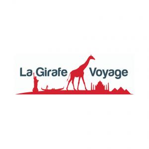 Logo la girafe voyage