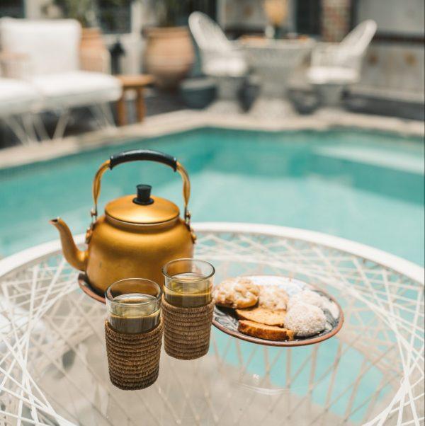 Un thé à la menthe et des cornes de gazelles à l'hôtel - 20