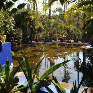 Une visite du jardin Majorelle et de la Ménara