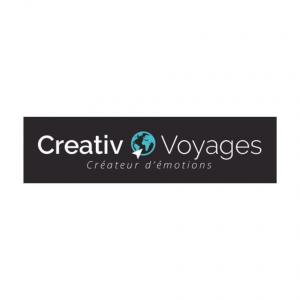 Logo créativ voyages