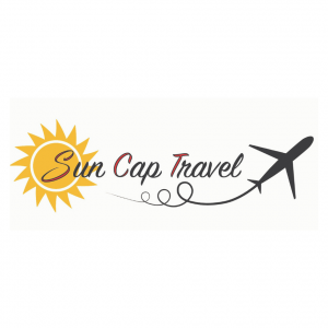 Logo sun cap travel