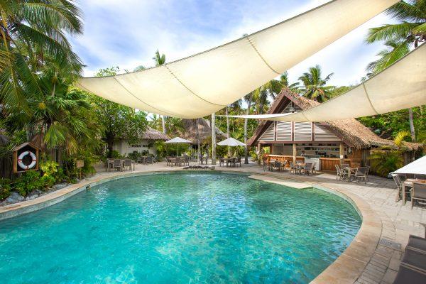 Une participation pour une nuit au Castaway Island Fidji