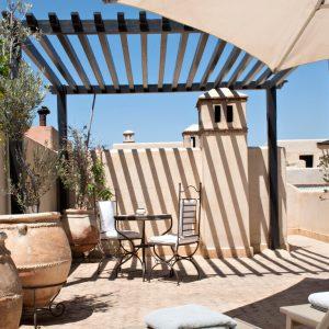 terrasse ensoleillée la villa des orangers