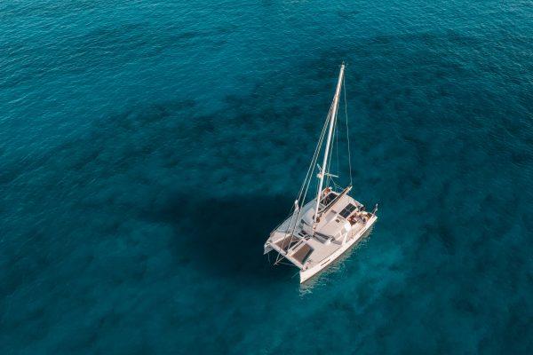 Un tour en catamaran