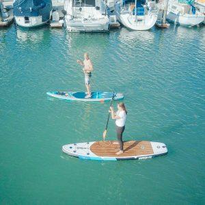 Une tour en paddle