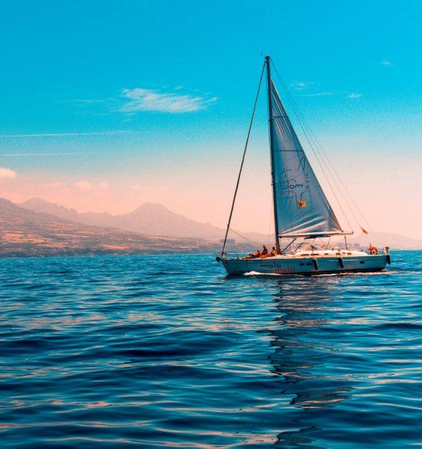 Une sortie d'une demi journée sur un voilier
