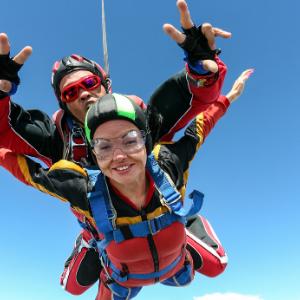 Une participation pour une chute libre de Skydive