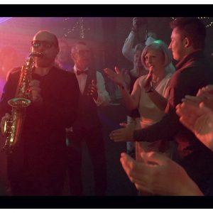 saxofun lors d'un mariage