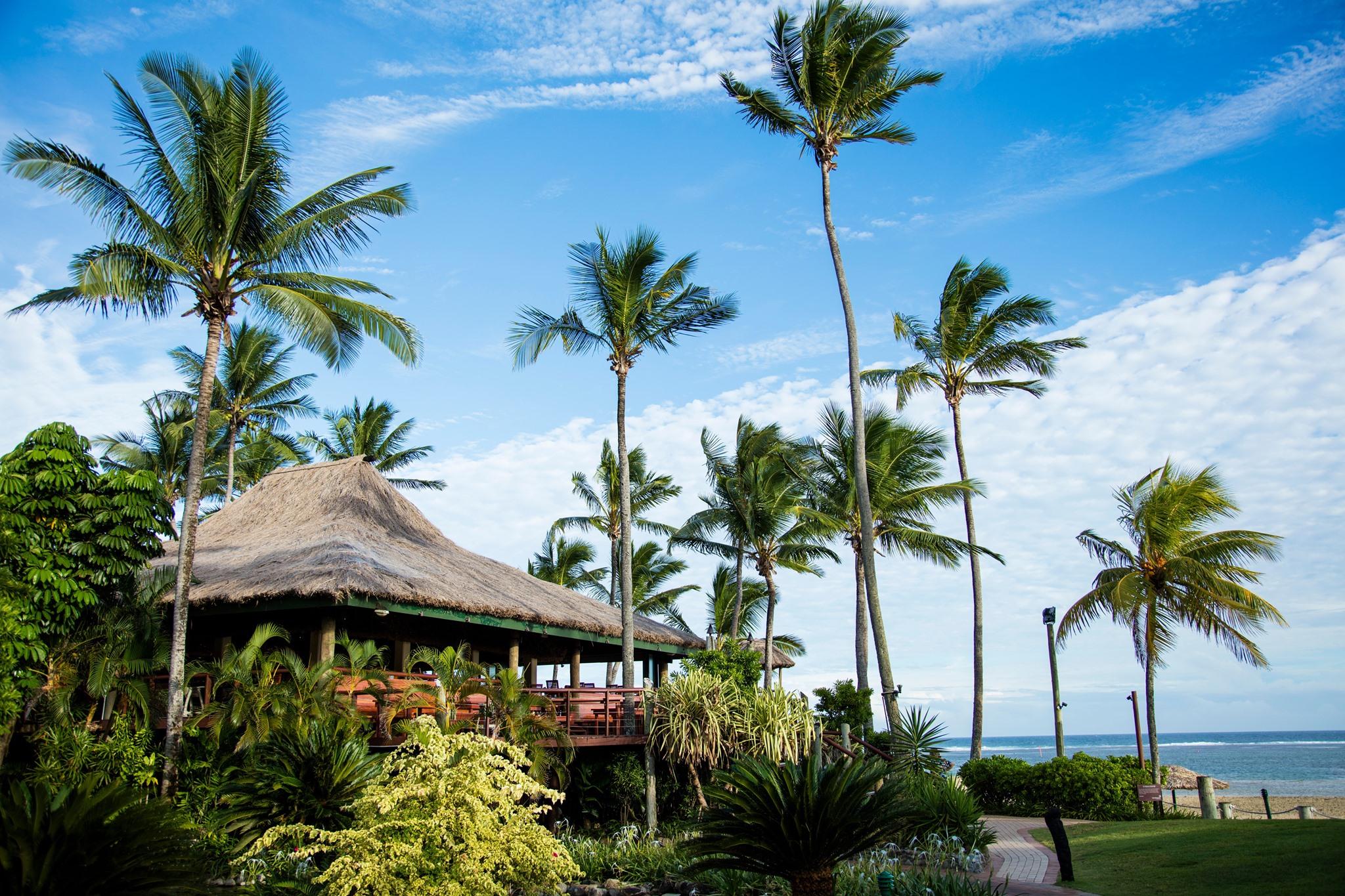détente outrigger fidji beach resort