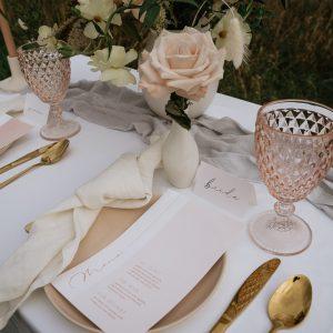 mariage table de réception