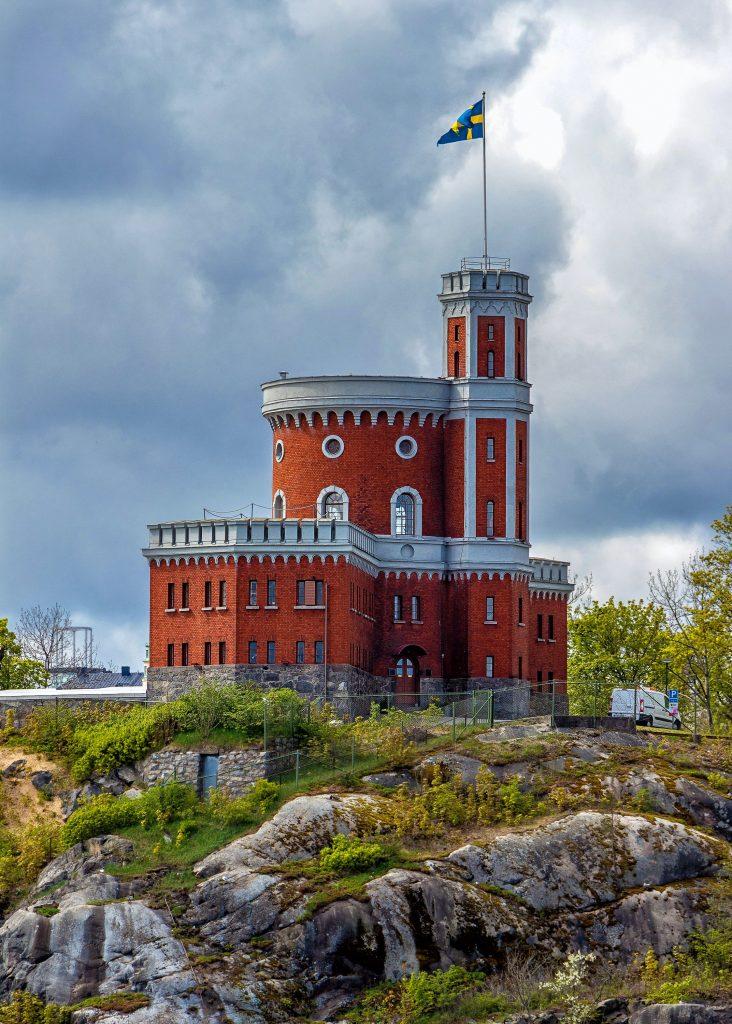 belle bâtisse en Suède