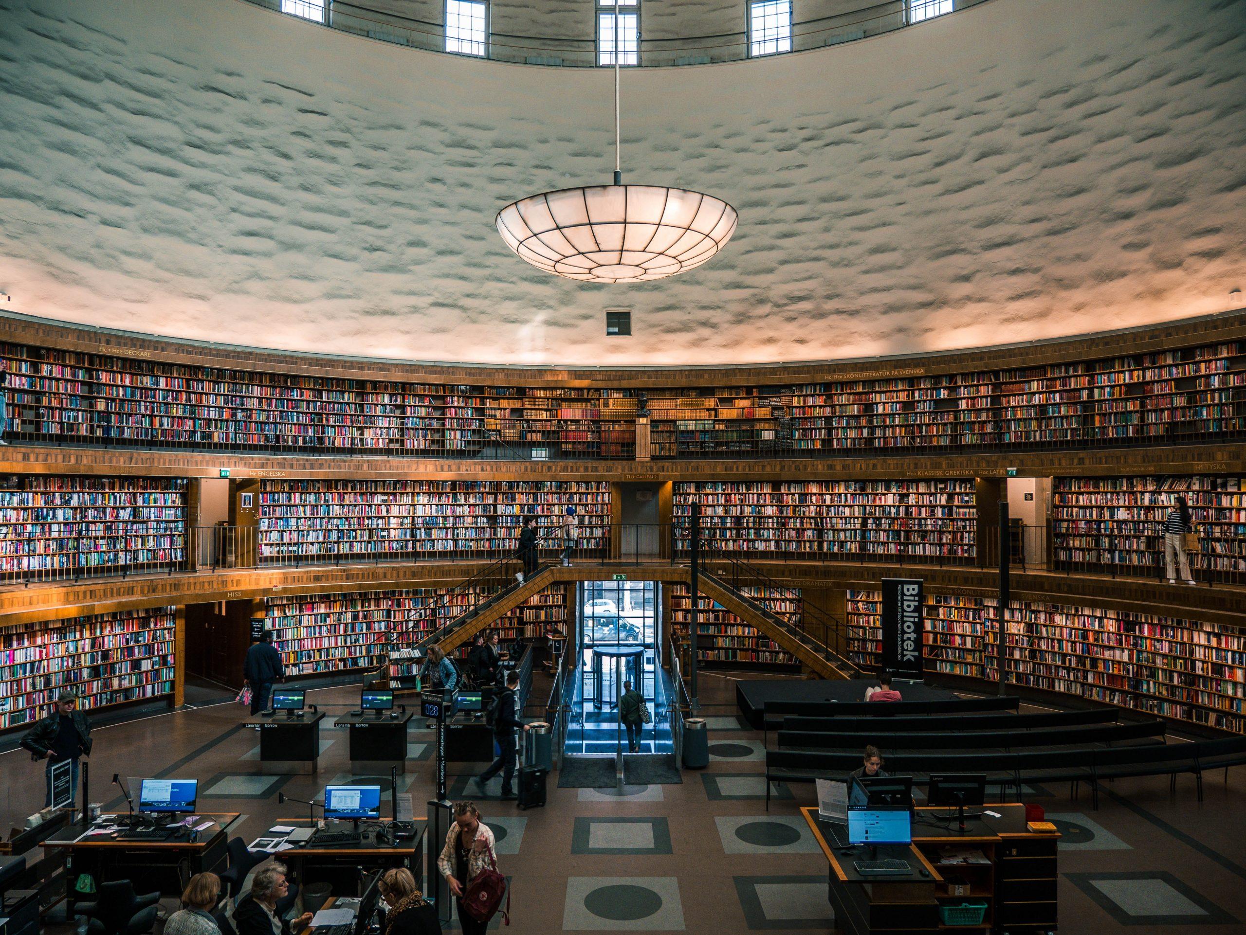 bibliothèque suède