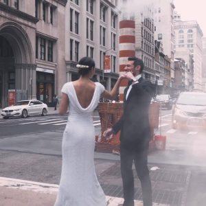 photo mariés à New york