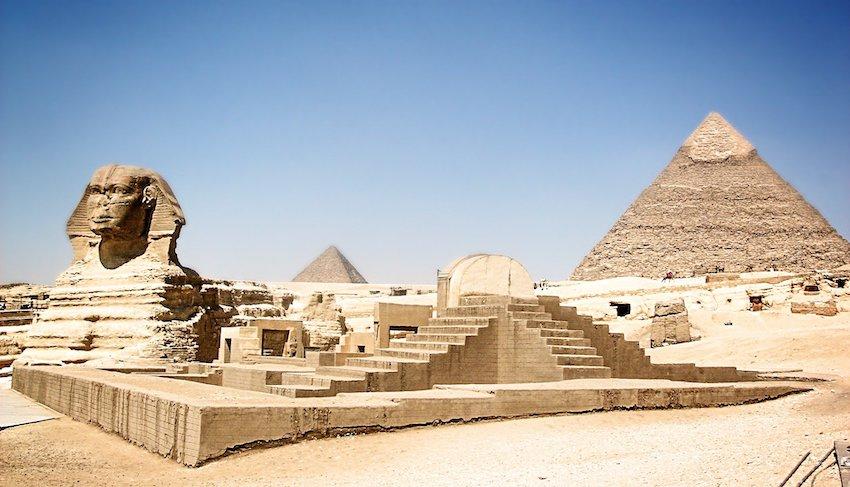 pyramide égypte