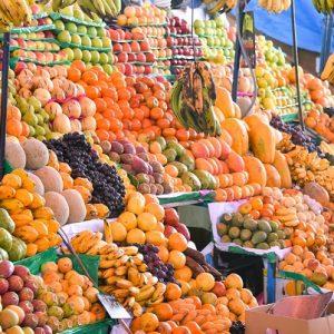 mercado central jus de fruits