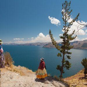 lac titicaca bolivie chili