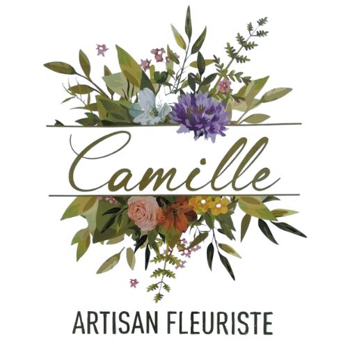 logo camille artisan fleuriste