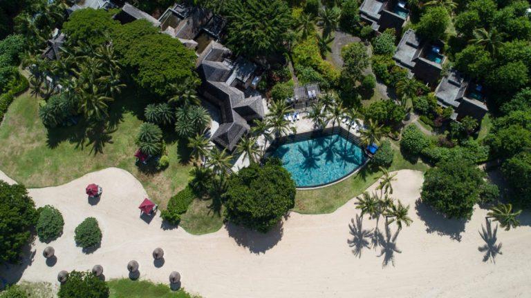 le maradiva villas resort & spa vue de haut