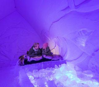 une nuit dans un igloo en glace - arctic snowhotel & glass igloos