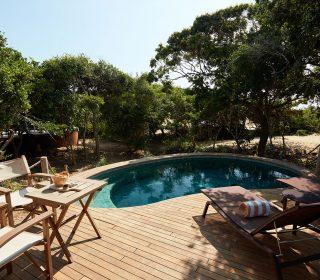 piscine wild coast tented lodge