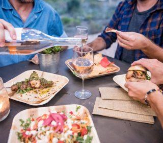 repas under canvas zion