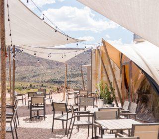 terrasse under canvas zion