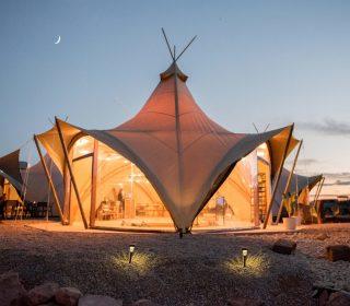 tente commune under canvas Zion